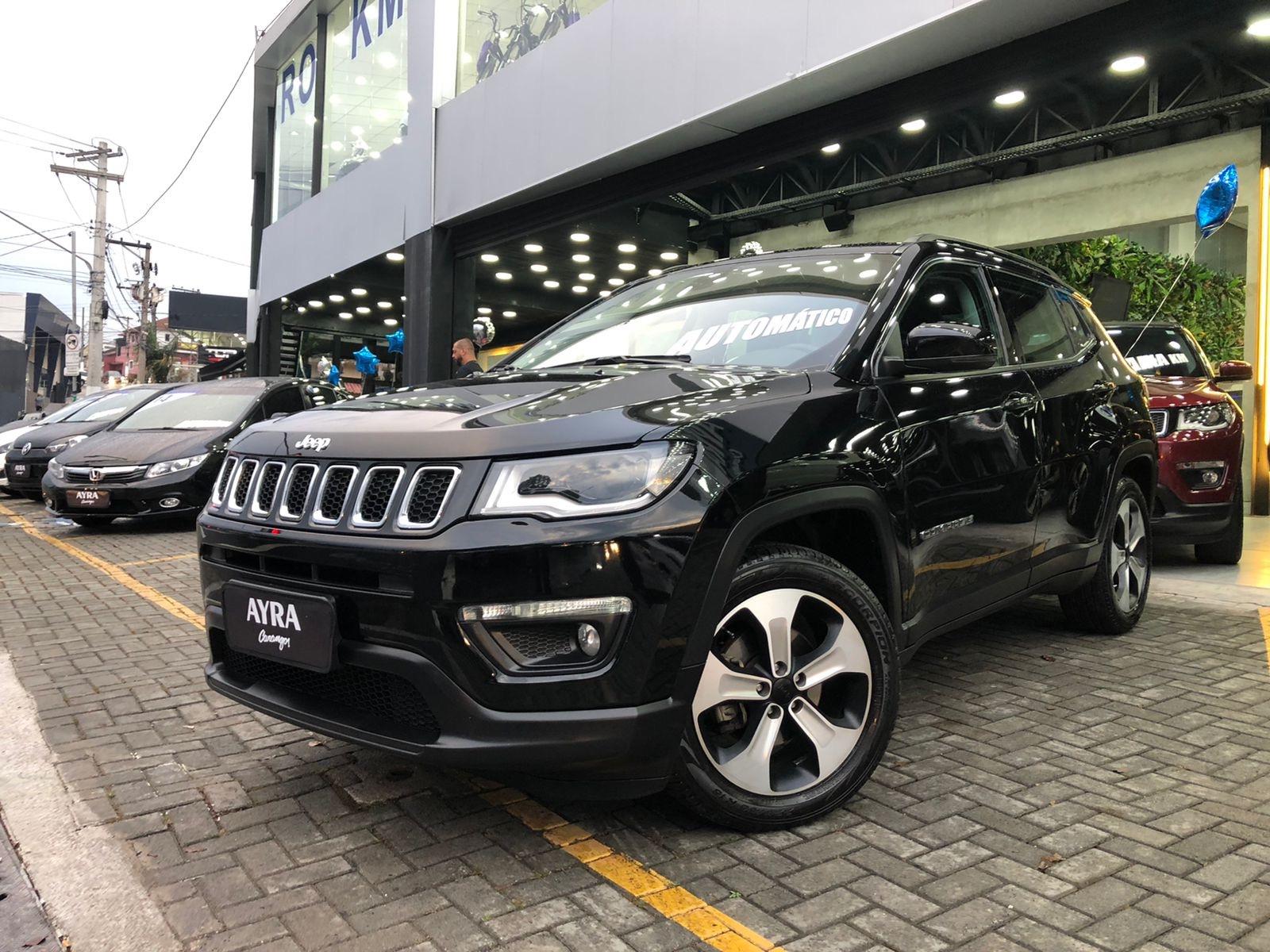 Foto do veiculo Jeep COMPASS LONGITUDE 2.0 4x2 Flex 16V Aut.