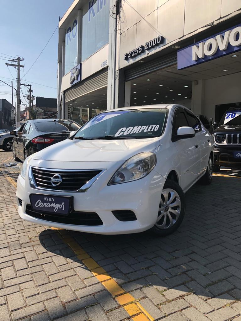 Foto do veiculo Nissan VERSA SV 1.6 16V Flex Fuel 4p Mec.