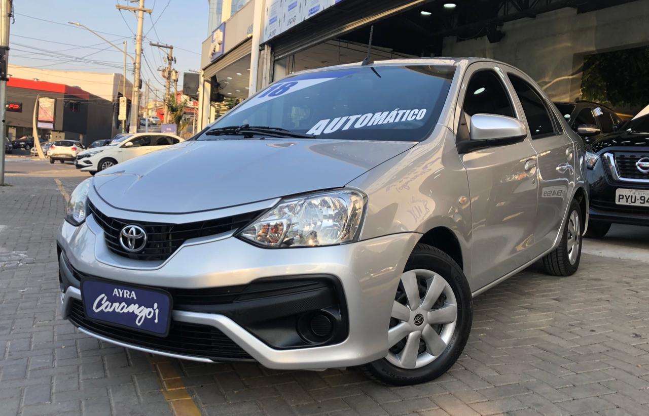 Foto do veiculo Toyota ETIOS X Sedan 1.5 Flex 16V 4p Aut.