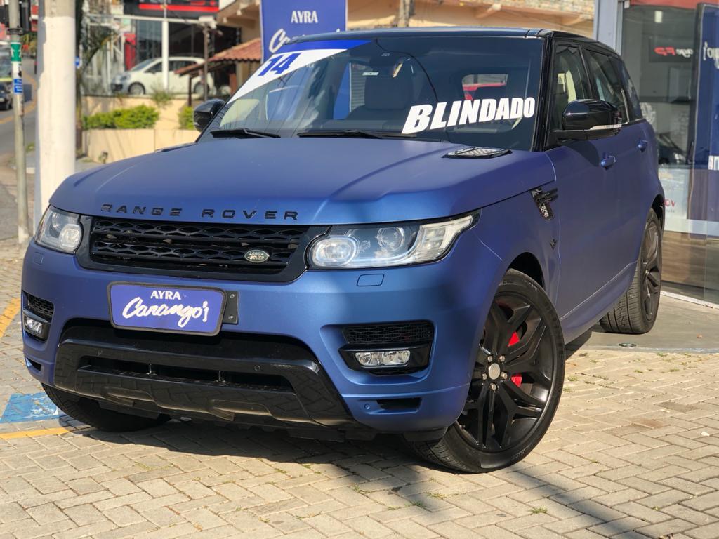 Foto do veiculo Land Rover Range R. Sport Autob. SUPERCHAR. 5.0 V8