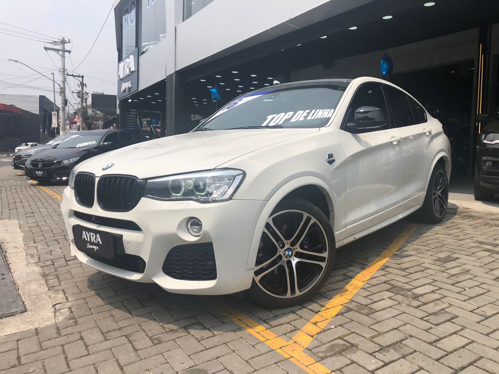 Foto do veiculo BMW X4 XDRIVE 35i M-Sport 3.0 TB 306cv Aut.