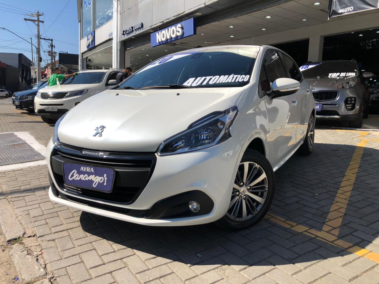 Foto do veiculo Peugeot 208 Griffe 1.6 Flex 16V 5p Aut.